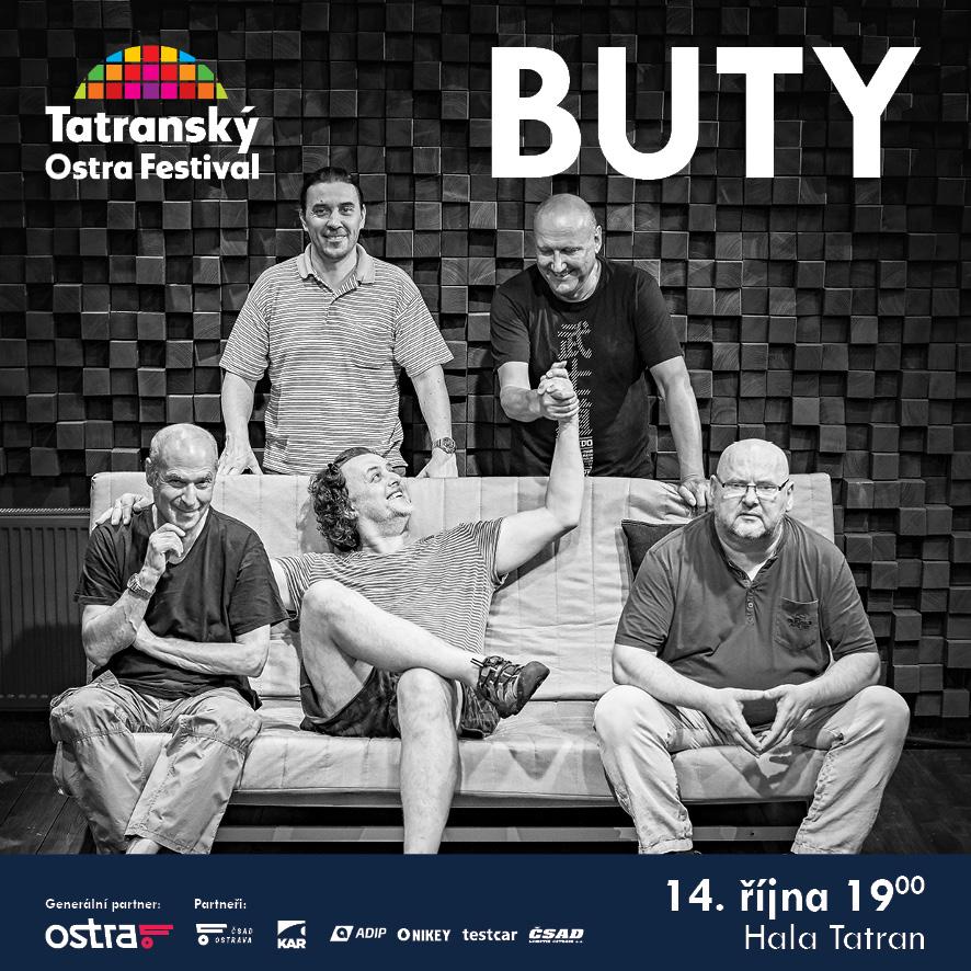 BUTY- koncert v Ostravě -hala Tatran, Ostrava