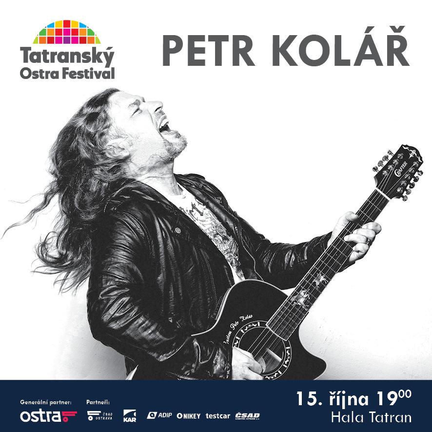 PETR KOLÁŘ- koncert v Ostravě -hala Tatran, Ostrava