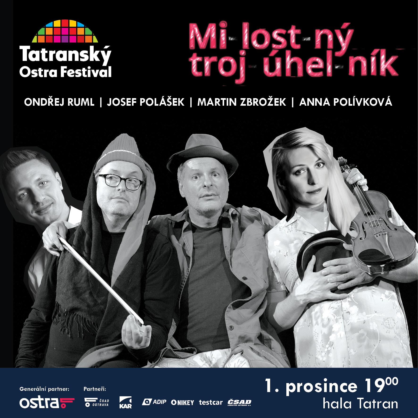 MILOSTNÝ TROJÚHELNÍK (Ostrava) -hala Tatran, Ostrava