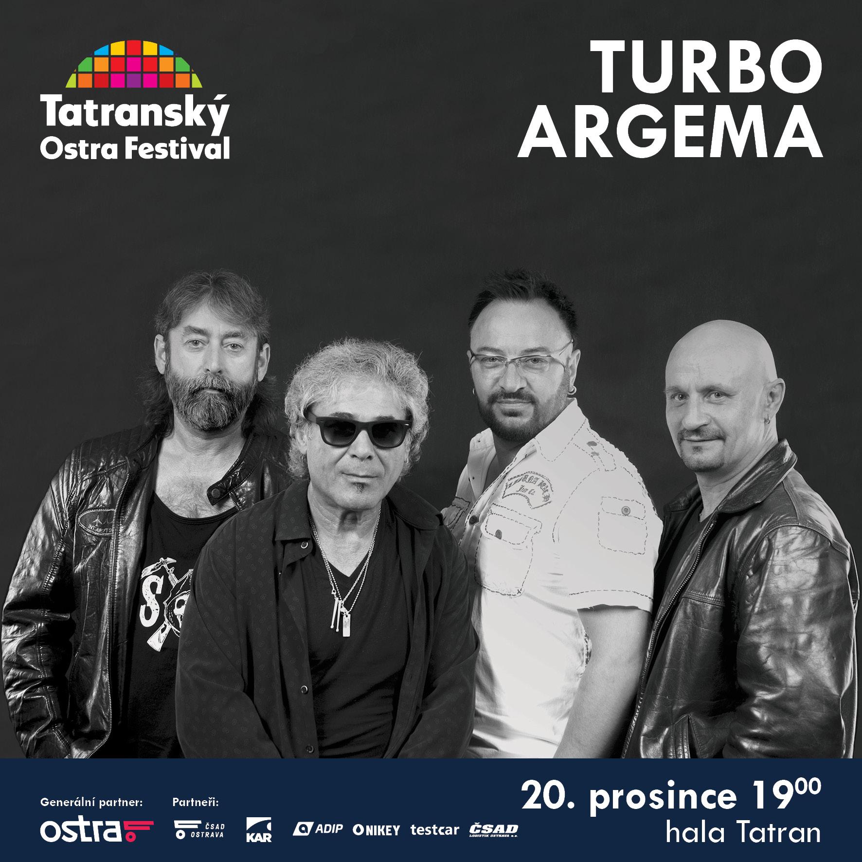 Koncert TURBO A ARGEMA- Ostrava -hala Tatran, Ostrava